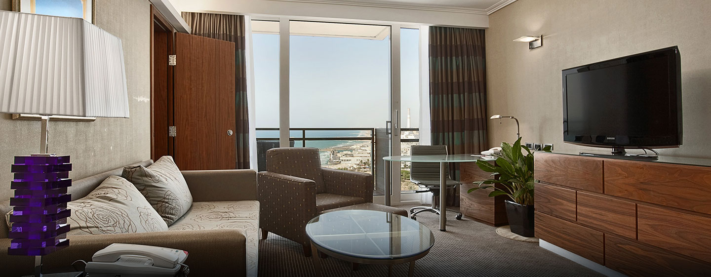 Hilton Tel Aviv Hotel, Israel – Executive Eck-Suite mit King-Size-Bett