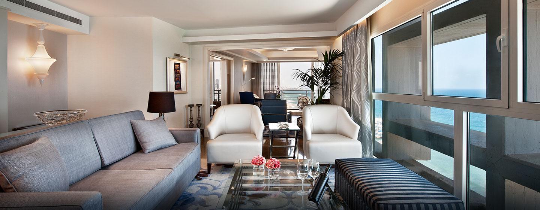 Hilton Tel Aviv Hotel, Israel – Wohnzimmer der Presidential Suite