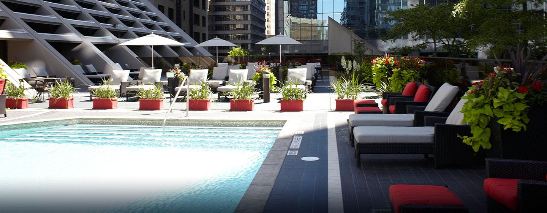 Hôtel Hilton Toronto, ON, Canada - Piscine extérieure