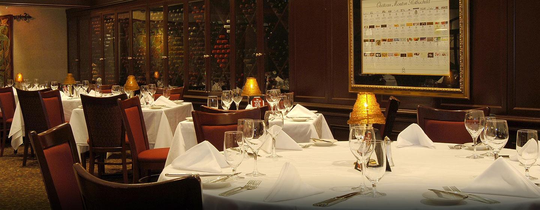 Hôtel Hilton Toronto, ON, Canada - Restaurant Ruth's Chris Steak House
