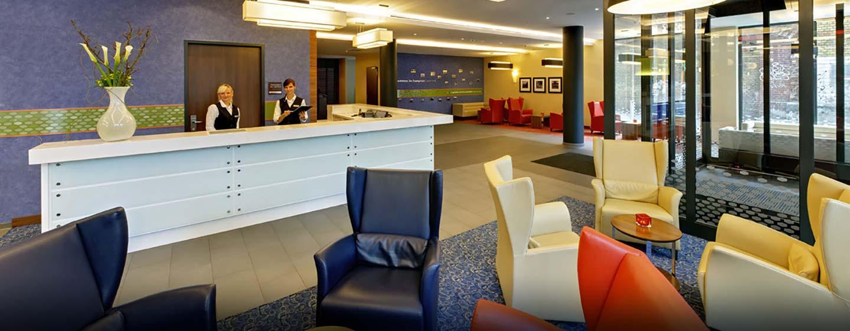 Hampton by Hilton Berlin City West, Deutschland – Empfang und Lobby