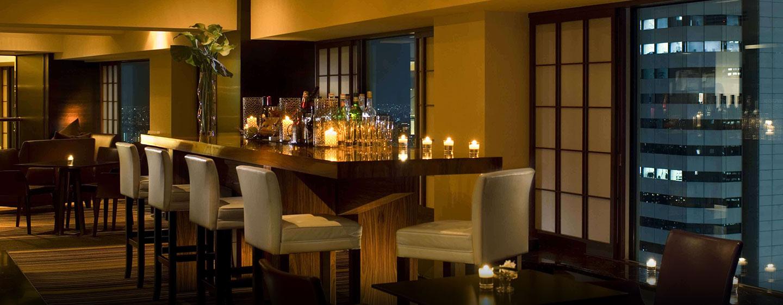Die elegante Executive Lounge läd die Gäste der Executive Zimmer und Suite zu Erfrischungen ein