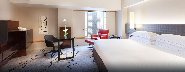 Genießen Sie hohen Schlafkomfort auf dem großen King-Size-Bett
