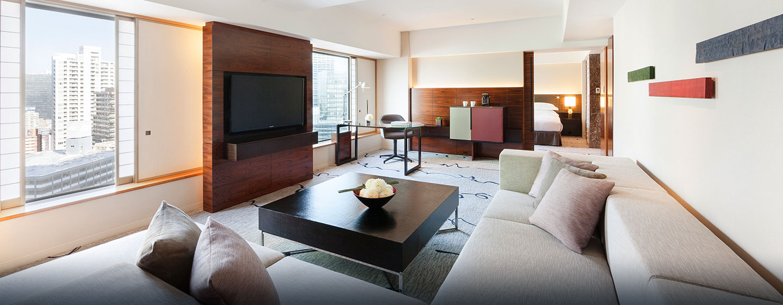 Genießen Sie den Platz und separate Wohn-und Schlafzimmer in der Suite