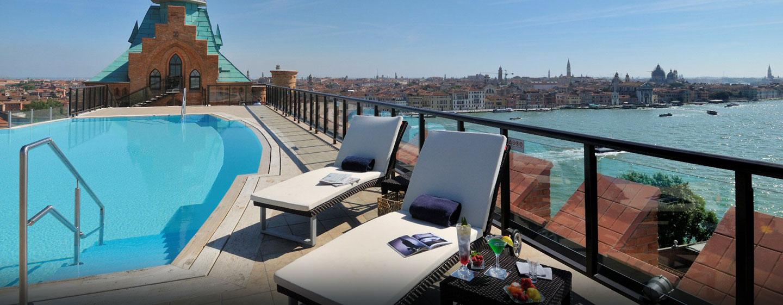 H tels et installations pour les v nements venise for Hotel nice piscine sur le toit