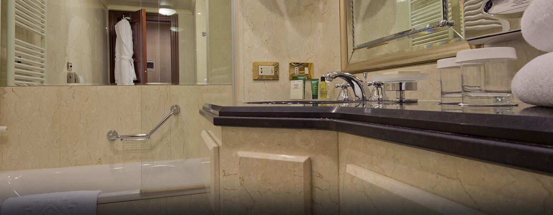 Hilton Molino Stucky Venice, Italia - Bagno in marmo