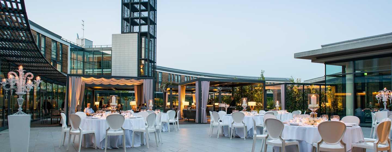 Hôtel DoubleTree by Hilton Hotel Venice - North, Italie - Jardin Arco