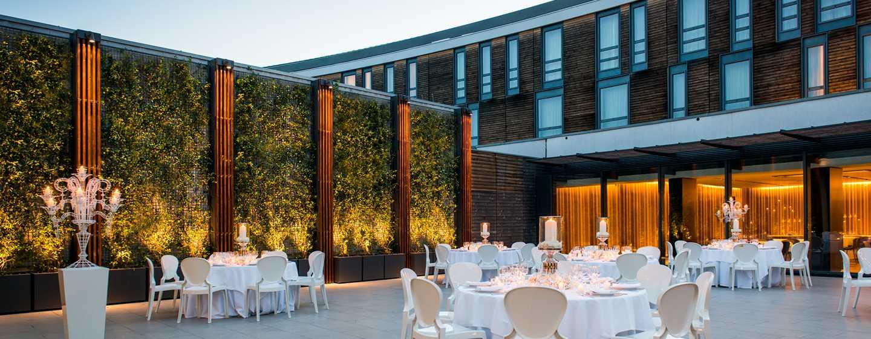 Hôtel DoubleTree by Hilton Hotel Venice - North, Italie - Jardin Arco - Configuration banquet