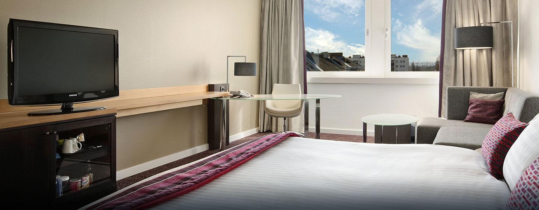 Genießen Sie Ihren Aufenthalt in den mindestens 40 m² großen Zimmern
