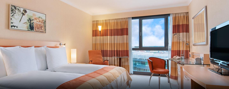 Hotel Hilton Vienna, Austria - Suite Junior con vista sulla cattedrale