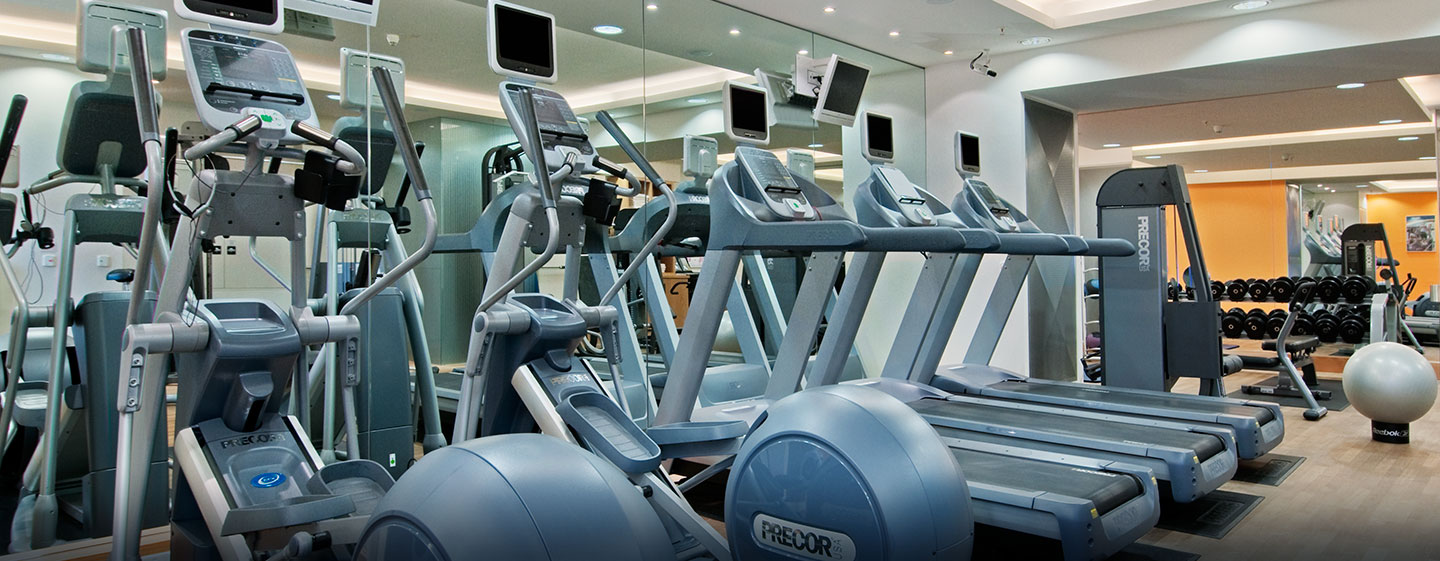 Hotel Hilton Vienna, Austria - Fitness Center