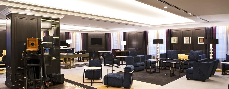 Die stilvolle Lobby läd die Gäste zum verweilen ein
