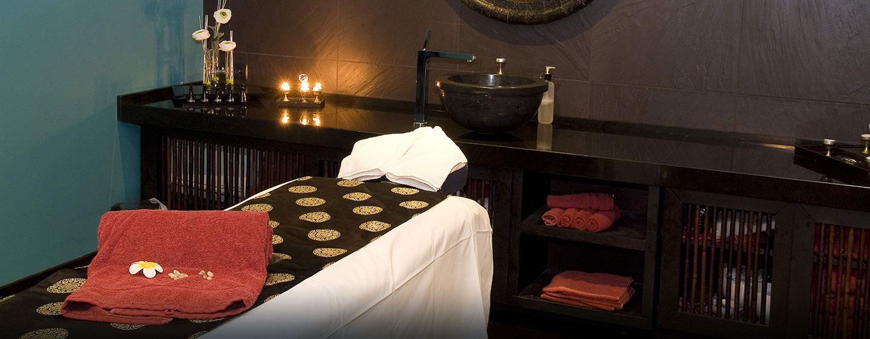 Hôtel Hilton Evian-les-Bains, France - Salle de massage du Buddha-Bar Spa