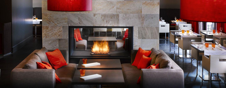Hôtel Hilton Evian-les-Bains, France - Restaurant Riva