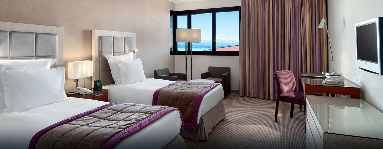 Hôtel Hilton Evian-les-Bains, France - Chambre pour personnes à mobilité réduite