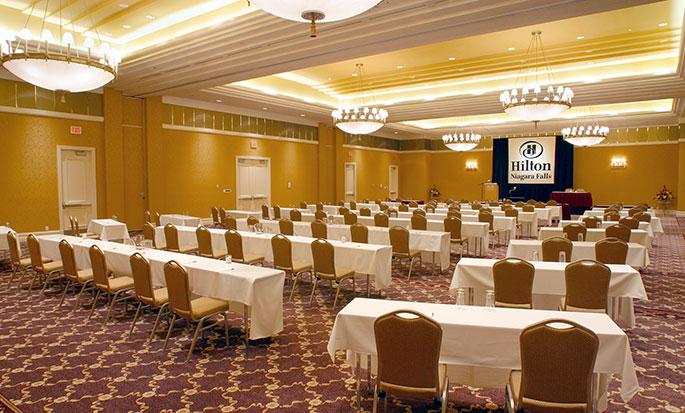 Hôtel Hilton Niagara Falls Fallsview - Salle de réunion