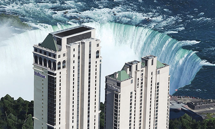 Hôtel Hilton Niagara Falls Fallsview - Vue extérieure