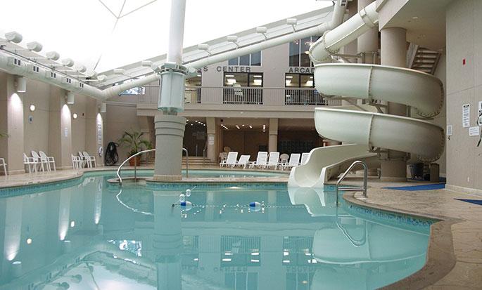 Hôtel Hilton Niagara Falls Fallsview - Piscine intérieure