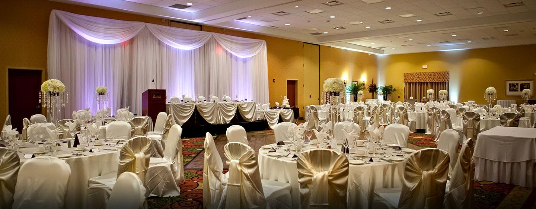 Hôtel Hilton Garden Inn Ottawa Airport, ON, Canada - Mariage