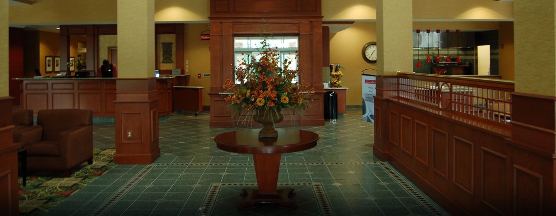 Hôtel Hilton Garden Inn Ottawa Airport, ON, Canada - Atrium