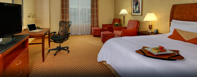 Hôtel Hilton Garden Inn Ottawa Airport, ON, Canada - Chambre avec très grand lit