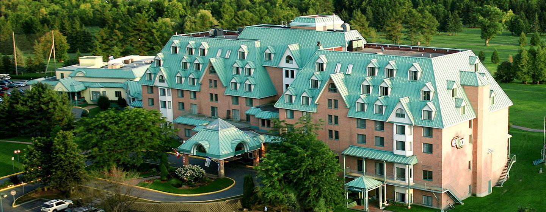 DoubleTree by Hilton Gatineau-Ottawa, Canada - Vue aérienne de l'hôtel