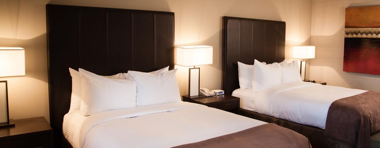 Hôtel DoubleTree by Hilton Gatineau-Ottawa, Canada - Chambre standard avec deux lits
