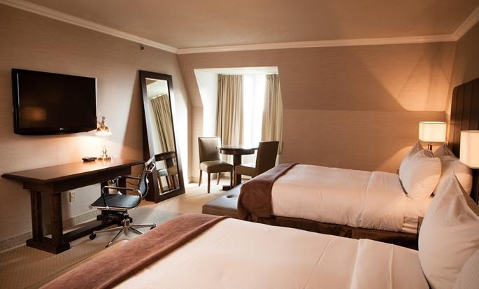 Hôtel DoubleTree by Hilton Gatineau-Ottawa, Canada - Chambre avec deux lits