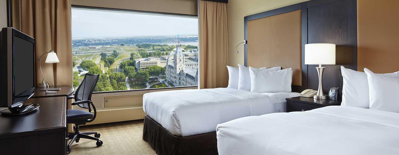 Hôtel Hilton Quebec, Canada - Vue magnifique sur le Parlement