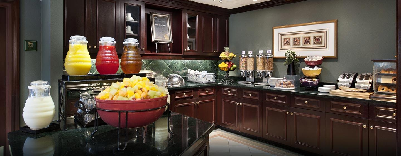 Hôtel Homewood Suites by Hilton Toronto-Mississauga - Espace petit déjeuner