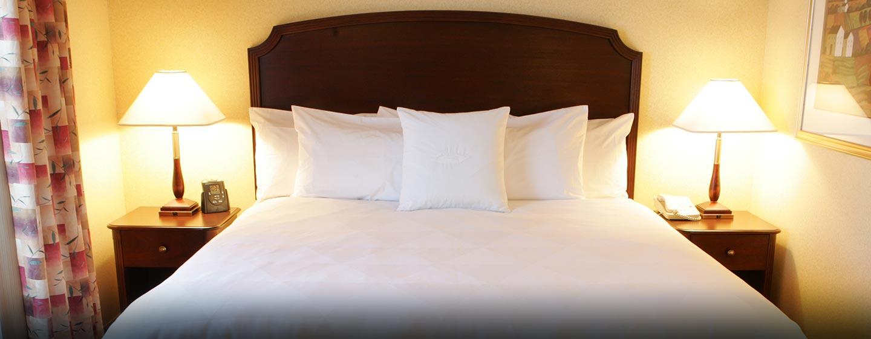 Hôtel Homewood Suites by Hilton Toronto-Mississauga - Chambre avec très grand lit