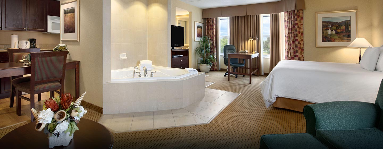 Hôtel Homewood Suites by Hilton Toronto-Mississauga - Suite avec bains à remous