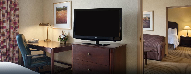 Hôtel Homewood Suites by Hilton Toronto-Mississauga - Suite à deux chambres à coucher