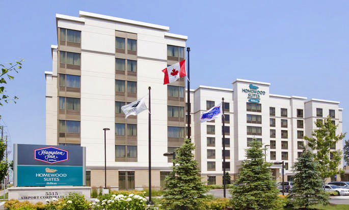 Hôtel Homewood Suites by Hilton Toronto Airport Corporate Centre, ON, Canada - Vue extérieure