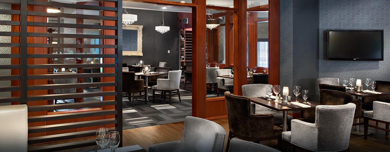 Hôtel Hilton Montreal-Laval, Canada - Restaurant Le Quartz