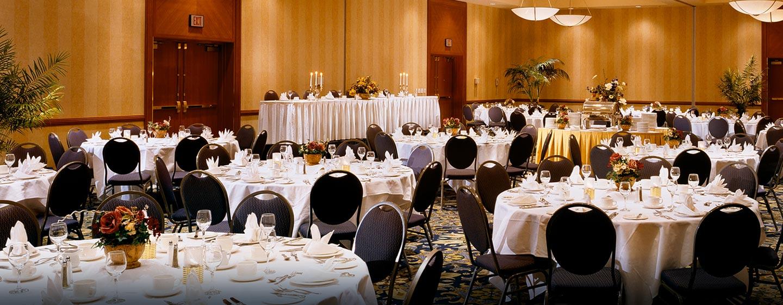 Hôtel Hilton Vancouver Airport, CB, Canada - Salle de réception