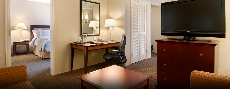 Hôtel Hilton Vancouver Airport, CB, Canada - Suite Penthouse avec deux chambres
