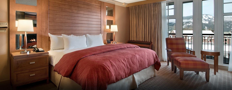 Hôtel Hilton Whistler Resort & Spa, CB - Chambre à coucher d'une suite