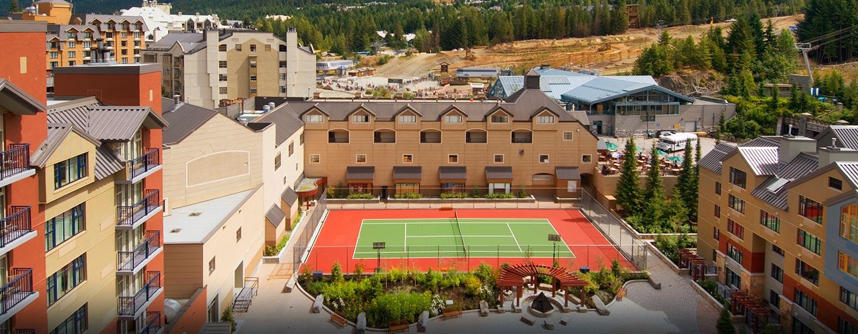 Hôtel Hilton Whistler Resort & Spa, CB - Courts de tennis