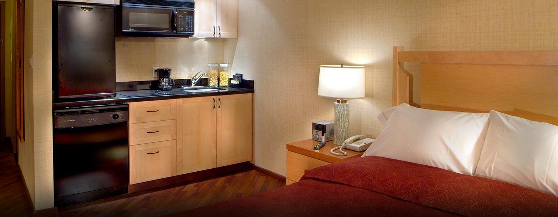 Hôtel Hilton Whistler Resort & Spa, CB - Chambre avec coin cuisine
