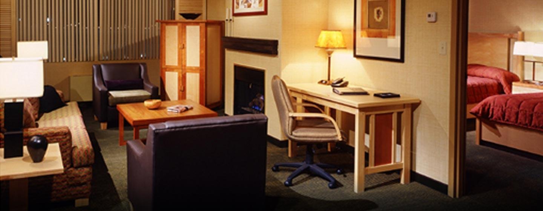 Hôtel Hilton Whistler Resort & Spa, CB - Suite à une chambre à coucher
