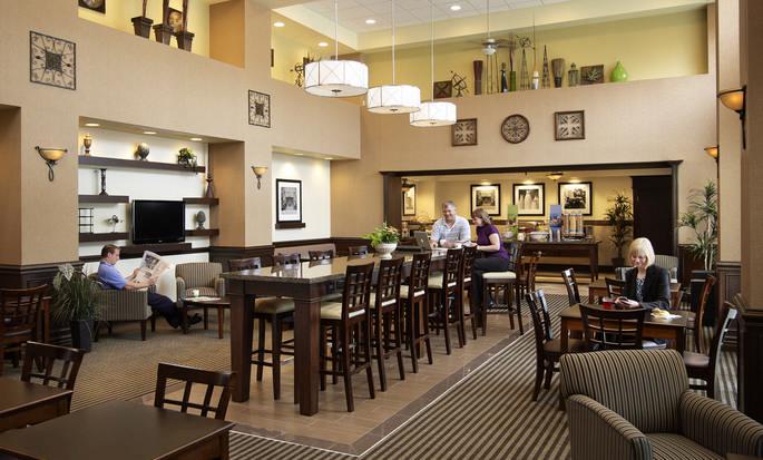 Hôtel Hampton Inn by Hilton North Bay - Espace petit déjeuner
