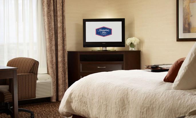 Hôtel Hampton Inn by Hilton North Bay - Chambre avec très grand lit
