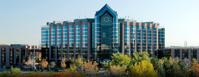 Hôtel Hilton Toronto Markham Suites Conference Centre & Spa, ON, Canada - Extérieur de l'hôtel