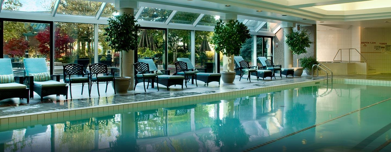 Hôtel Hilton Toronto Markham Suites Conference Centre & Spa, ON, Canada - Piscine intérieure chauffée