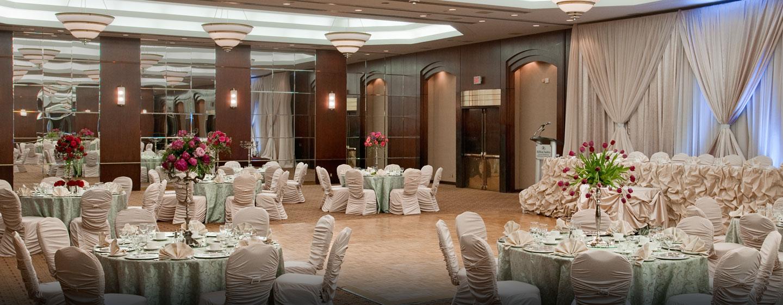 Hôtel Hilton Toronto/Markham Suites Conference Centre & Spa, ON, Canada - Mariage au centre de conférence