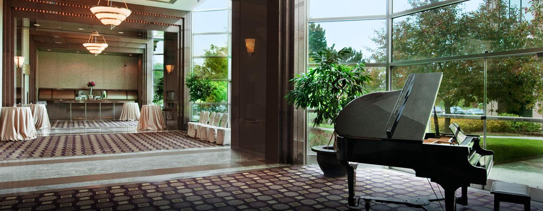 Hôtel Hilton Toronto Markham Suites Conference Centre & Spa, ON, Canada - Vestibule de la salle de réception Markham