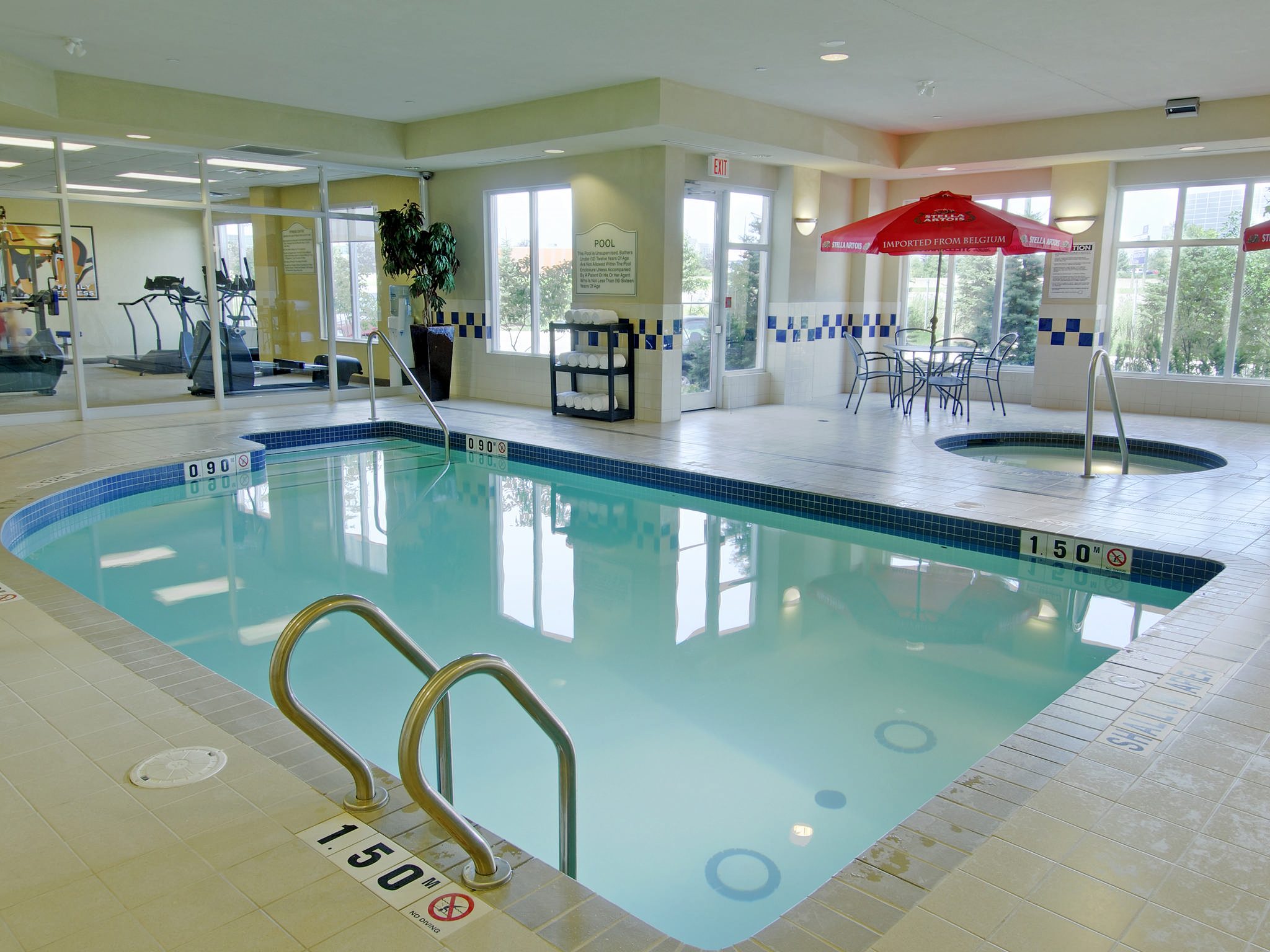 H Tel Hilton Garden Inn Toronto Burlington On Canada Piscine Int Rieure