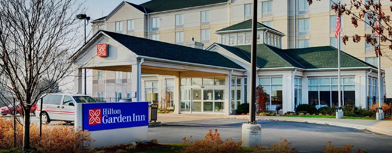 Hôtel Hilton Garden Inn Kitchener Cambridge, Canada - Entrée extérieure