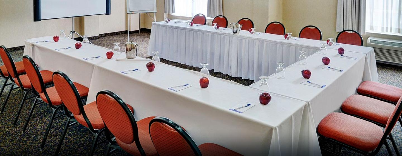 Hôtel Hilton Garden Inn Kitchener Cambridge, Canada - Salle de réunion